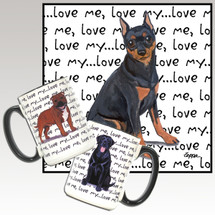 Miniature Pinscher Love Me Mug