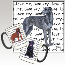 Scottish Deerhound Love Mug