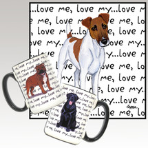 Smooth Fox Terrier Love Me Mug