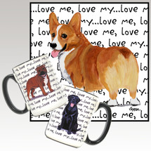 Welsh Corgi Love Me Mug