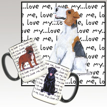 Wirehaired Fox Terrier Love Me Mug