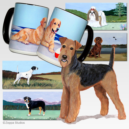 Airedale Scenic Mug