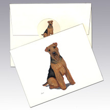 Welsh Terrier Note Cards