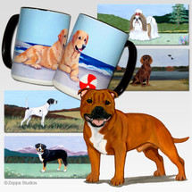 English Staffordshire Terrier Scenic Mug