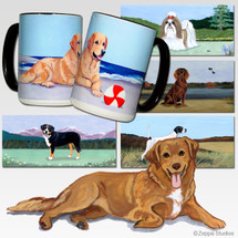 Nova Scotia Duck Tolling Retriever Scenic Mug