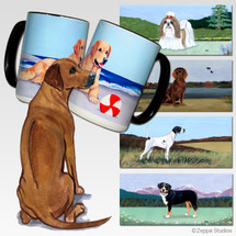 Rhodesian Ridgeback Scenic Mug - Rectangle