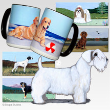 Sealyham Terrier Scenic Mug - Rectangle