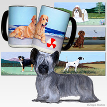 Skye Terrier Scenic Mug - Rectangle