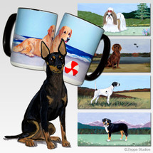 Toy Manchester Terrier Scenic Mug - Rectangle