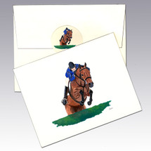 Hunter Jumper Note Cards