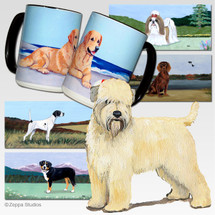 Wheaten Terrier Puppy Cutting Board