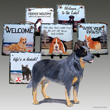 Australian Cattle Dog Slate Signs