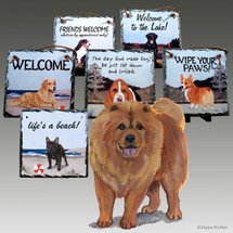 Chow Chow Slate Signs