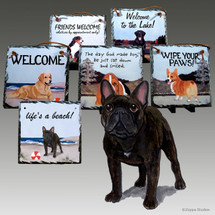 French BulldogSlate Signs