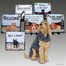 Otterhound Slate Signs