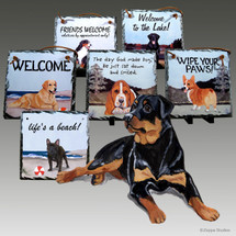 Rottweiler Slate Signs