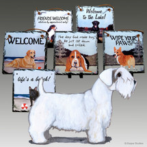 Sealyham Terrier Slate Signs