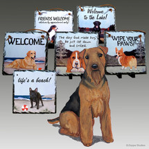 Welsh Terrier Slate Signs