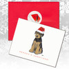Airedale Puppy Christmas Cards