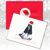 American Cocker Black and White Christmas Cards