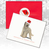 Briard Uncropped Christmas Cards