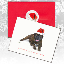Bullmastiff Christmas Cards