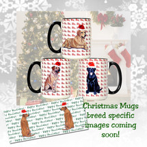 Dogue de Bordeaux Christmas Mugs