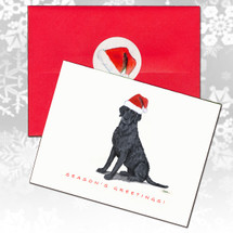 Curly Coated Retriever Christmas Cards
