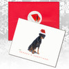 Doberman Uncropped Christmas Cards
