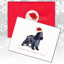 English Cocker Spaniel Christmas Cards