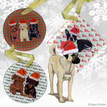 Anatolian Shepherd Christmas Ornament