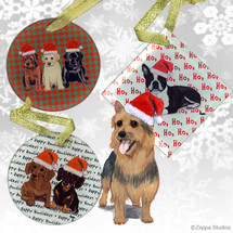 Australian Terrier Christmas Ornament