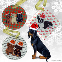 Black and Tan Coonhound Christmas Ornament