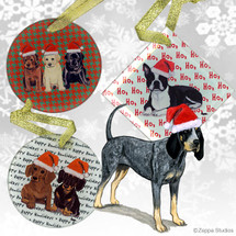 Bluetick Coonhound Christmas Ornament