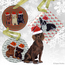 Boykin Spaniel Christmas Ornament