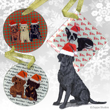 Curly Coated Retriever Christmas Ornament