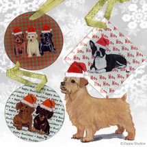 Norfolk Terrier Christmas Ornaments