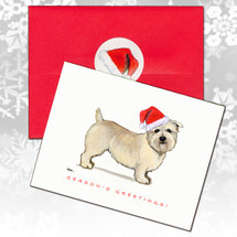 Glen of Imaal Terrier Christmas Cards