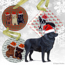 Schipperke Christmas Ornaments
