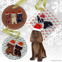 Sussex Spaniel Christmas Ornaments
