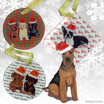 Welsh Terrier Christmas Ornaments