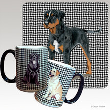 Catahoula Leopard Dog Houndzstooth Mug
