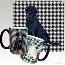 Curly Coated Retriever Houndzstooth Mug