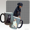Uncropped Doberman Houndzstooth Mug