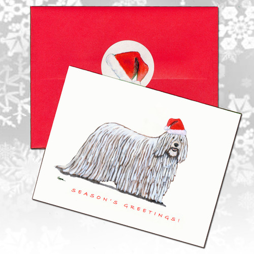 Komondor Christmas Cards
