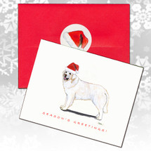 Kuvasz Christmas Cards
