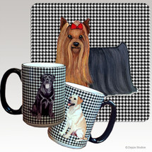 Yorkshire Terrier Houndzstooth Mug