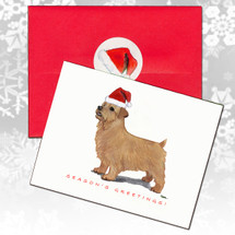 Norfolk Terrier Christmas Cards