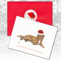 Nova Scotia Duck Tolling Retriever Christmas Cards