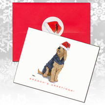 Otterhound Christmas Cards